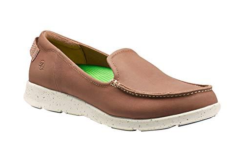Superfeet Women's Fir FX Slip-On Loafer Shoe, Rawhide, Leather, Women's 6.5 US