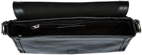 bcb878edef85 FRYE Lena Chain Zip Leather Crossbody Bag, Black: Amazon.com: Amazon US