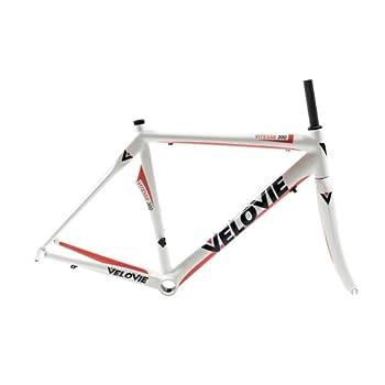 Image of Bike Frames VeloVie Vitesse 300 Carbon Axis Road Bicycle Frame and Fork Set
