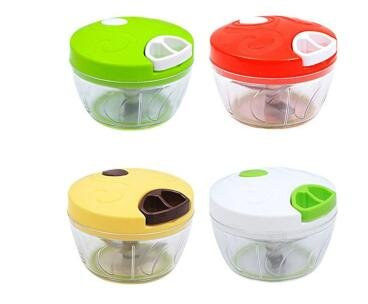 Ebeyam Multifuncional manual de alimentos Chopper compacto Potente mano de verduras Chopper Herramientas de cocina Accesorios