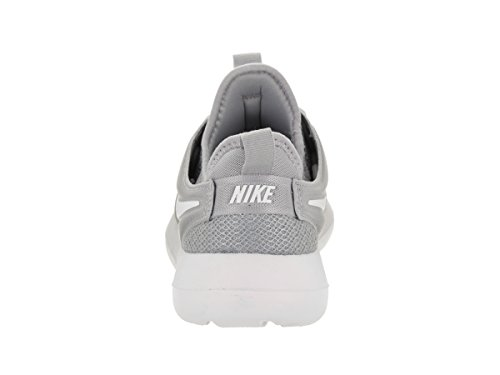 Men's White White Nike Shoes Rn Running Free Flyknit Grey Wolf Wolf Grey Gs AzzdOw