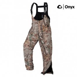 Arctic Shield Overalls - Onyx ArcticShield Pro Series Waterproof Hunting Bib Overalls with X-System Lining, REALTREE AP, LG