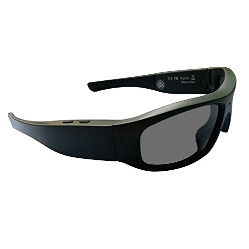 DATONTEN Sunglasses with Camera HD 720P Video Recording Glasses with 8GB SD Card