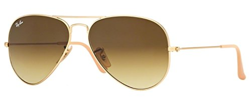 - Ray Ban RB3025 112/85 58M Matte Gold/ Brown Gradient Aviator