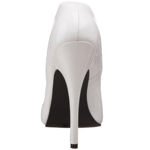 Pleaser DOMINA-420 Damen Extrem High Heels Blk Pat