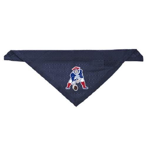 Throwback Jerseys Patriots - Littlearth New England Patriots Dog Cat Mesh Jersey Throwback Bandana Navy S/M