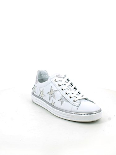 Con Pelle Brillantini Stelle 38 E N In Bianca Sneaker qtWUfTBAB
