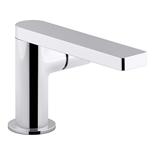 KOHLER K-73050-7-CP Composed Single-Handle Bathroom Sink Faucet with Cylindrical Handle, Polished Chrome by Kohler