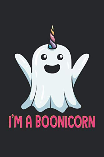 Scary Halloween Magic Tricks (I'm A Boonicorn: Halloween Ghost Unicorn. Graph Paper Composition Notebook to Take Notes at Work. Grid, Squared, Quad Ruled. Bullet Point Diary, To-Do-List or Journal For Men and)