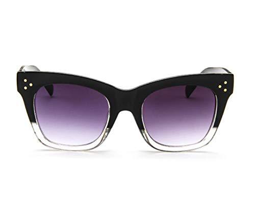 - Classic Cat Eye Sunglasses Women Vintage Oversized Gradient Sun Glasses Shades Female Luxury Designer Uv400 Sunglass,C4