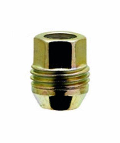 White Knight 2004S-4 Zinc Gold 4 Piece Open End Dual Thread Lug Nut 3//4 Hex Size