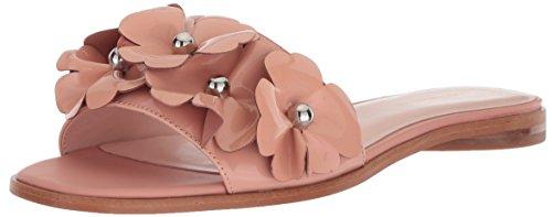 Avec Les Filles Women's BAHA Flat Sandal, Papaya Patent, 7 M US