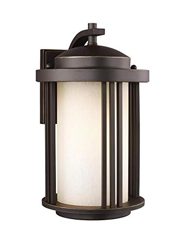 Sea Gull Lighting 8747901EN3-71 Medium One Light Outdoor Wall Lantern Antique Bronze