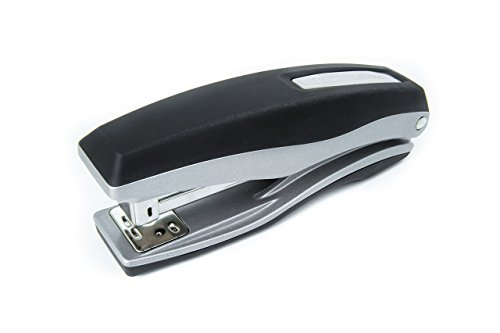 PraxxisPro Basileus Heavy Duty Metal Stapler Value Pack with 25 Sheet Capacity - Includes Staples and Staple Remover - Jam Free Stapler Set for Professional and Home Office Use (Silver) by PraxxisPro