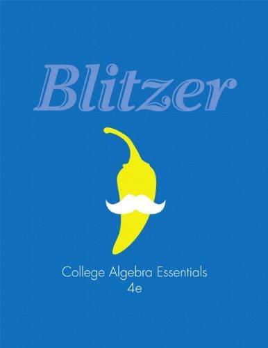 College Algebra Essentials (4th Edition)