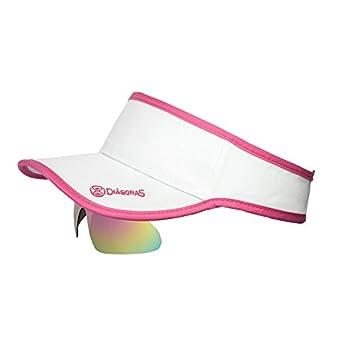 Diàgoras Gorra Visera Mujer Padel Tenis Running Lentes Polarizadas UV400 Policarbonato: Amazon.es: Deportes y aire libre
