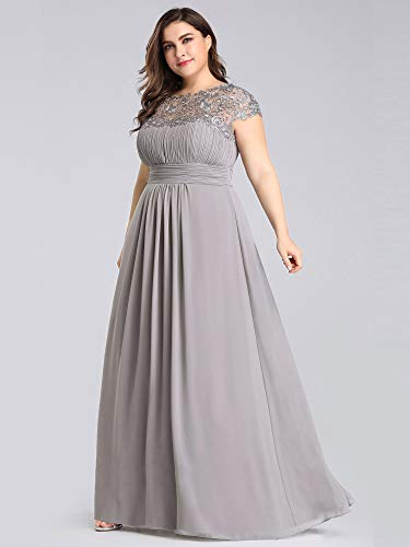 Valentine Plus-Size Cap Sleeve Dresses
