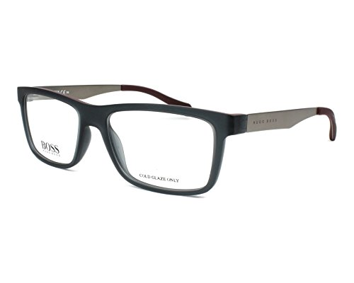 Eyeglasses Boss Black Boss 870 005G Matte Gray - Boss Men Hugo Glasses For