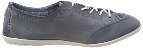 Washed Donna Ops421sof Softinos Scarpe Blu navy Stringate Oxford wAxqp
