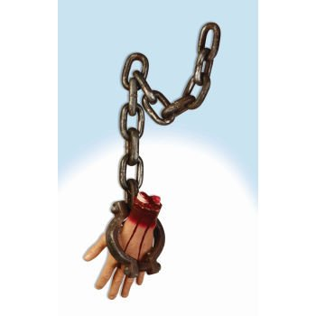 Forum Novelties Hanging Bloody Hand (Bloody Foot Hanging Prop)