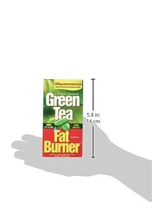 Green Tea Fat Burner? 150 Liquid Soft-Gels (Maximum Strength 100% Pure Extract)