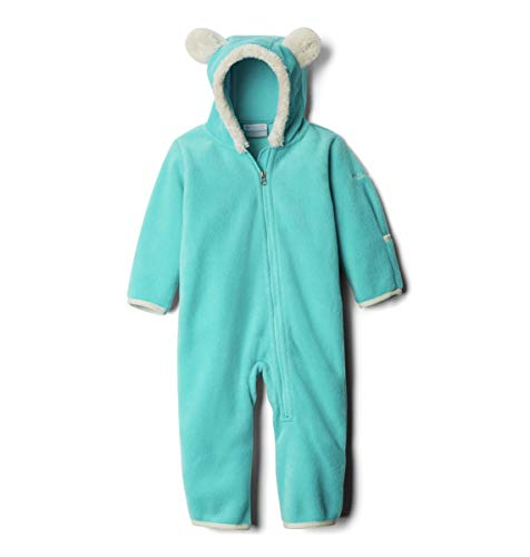 Columbia Unisex Baby Infant Tiny Bear II Bunting, Geyser, 12/18