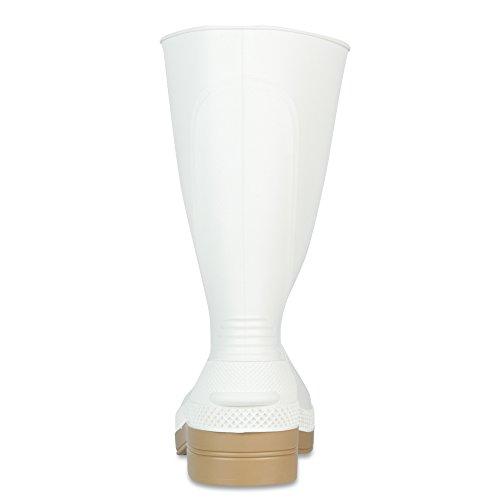 XTRATUF 11'' Men's PVC Shrimp Boots, White (75136) by Xtratuf (Image #2)