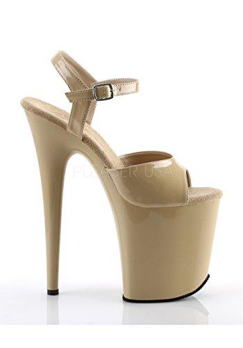 809 Flamingo Pleaser Cream Pat Donna cream Sandali q4z4vcwS5g
