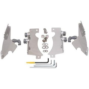 Memphis Shades MEM8969 Polished Trigger-Lock Mount Kit for Yamaha XVS1300A and XVS950 V-Star 2007-2015