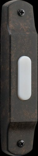 - Basic Narrow Door Chime Button in Toasted Sienna by Quorum
