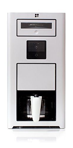 Bonaverde Silver Roast-Grind-Brew Coffee Machine, Silver with Black Accents by Bonaverde