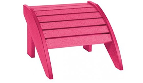 MD Group New Fuschia Plastic Ergonomically Designed Completely Waterproof Stainless Steel Hardware Footstool by MD Group