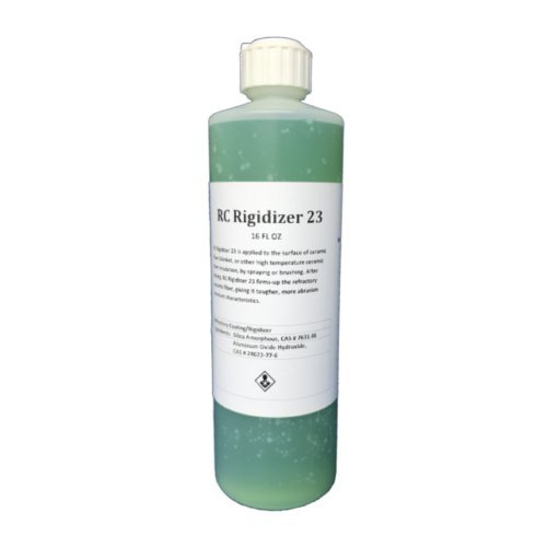 RC Rigidizer 23 - 16 OZ (1 Pint) - Surface Treatment for Ceramic Fiber Products by Rubix Composites