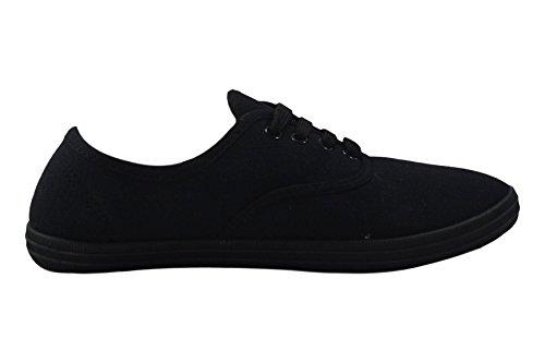 Canvas Lace 8 Pumps Shoes up 3 Trainers Fashion LLB Plimsolls UK Sneakers Flat Plimsoles Girls Size HU5ccqzw