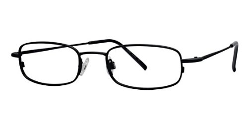 Flexon Flx 803Mag-Set Eyeglasses 002 Mat Black Demo 51 19 145 ()