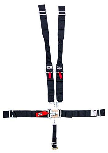 Amazon.com: Crow CRW11074-DB Black 5 Point Harness Latch Hans Wrap