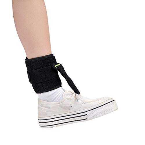 Ankle Foot-Up Splint Device Adjustable Drop Foot Support AFO AFOs Brace Strap Elevator Day Time Pain Relief Poliomyelitis Hemiplegia Stroke Universal Size