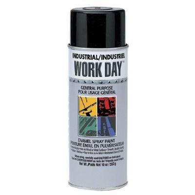 Krylon A04419000 Industrial Work Day Enamel Paints, 16 Oz Aerosol Can, Red Primer (Pack of 12)