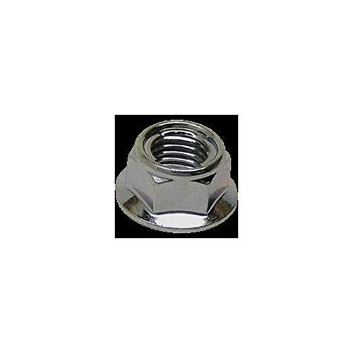 Bolt MC Hardware Hex Head Flange Fuji Style Metal Locking Nuts M10 x 1.25 14mm 021-31014