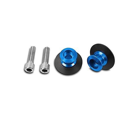 Ninja 300//250 R//SL ZRX 1100 ER-6n Vulcan S//Caf/é Paddock Stand Bobbins Mugello M10 blue for Kawasaki ER-6f Z 250 SL// 300//750 R//S Versys 650//1000 Z 1000// SX