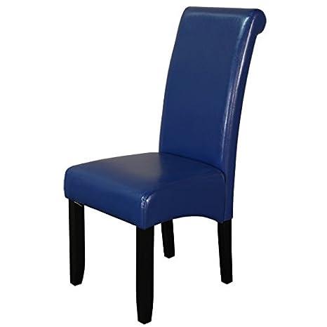 Amazon.com: Lujo dinign silla de habitación, juego de dos ...