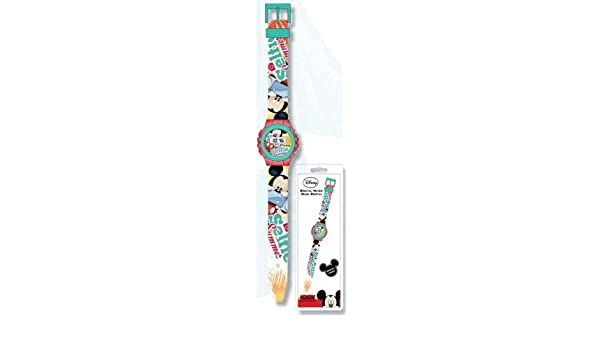 Amazon.com: Disney Mickey Mouse Wrist Digital Watch Reloj JAV: Cell Phones & Accessories