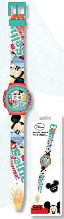Disney Mickey Mouse Wrist Digital Watch Reloj JAV