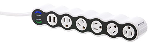 7 Outlet Advanced Surge Protector - 9