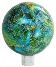 VCS Mosaic Stand, Glass Green/Turquoise