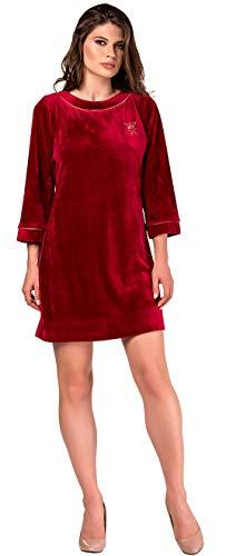 Crystal Rein - De La Ville Pleasures Women's Ottawa Christmas Queen Plush Gown with Crystal Applique A La Reine (10)