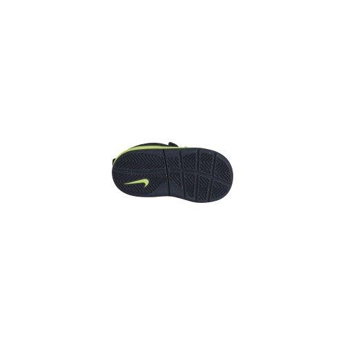 Nike Pico 4 (TDV) - Zapatillas de tenis para infantil Azul / Gris oscuro / Verde limón