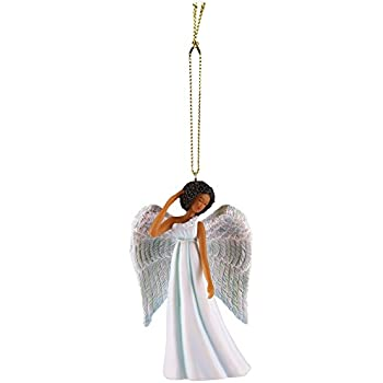 African American Expressions - Blue Angel Collectible Christmas Ornament ORNA03