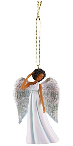 (African American Expressions - Blue Angel Collectible Christmas Ornament ORNA03 )