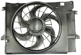TYC 620530 Nissan/Mercury Replacement Radiator/Condenser Cooling Fan Assembly